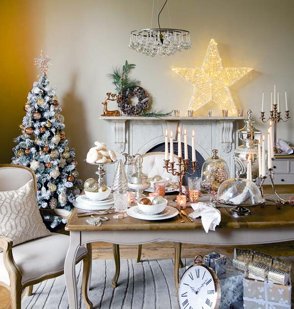 Christmas home decorations ideas 2017 for Home decor 365