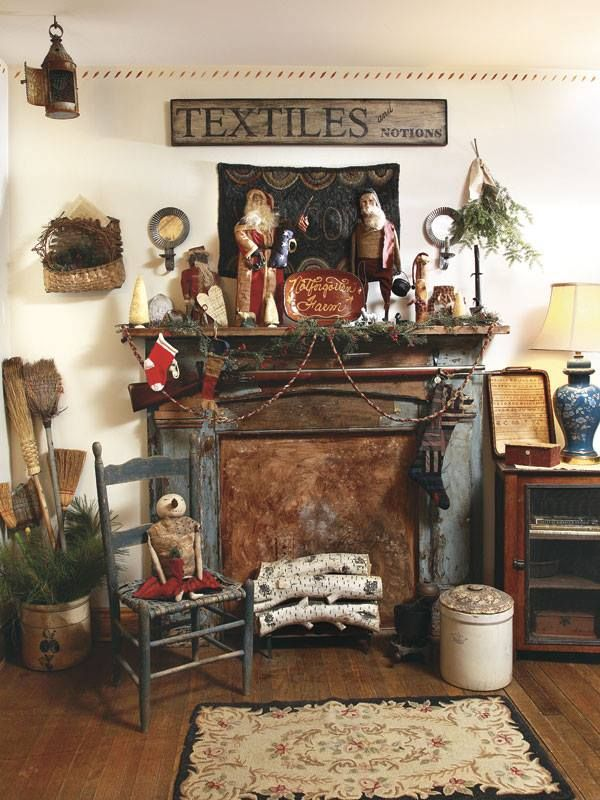 Country Sampler Decorating Ideas For Christmas ...
