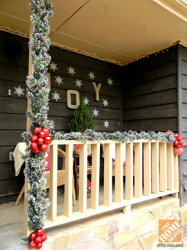 Outdoor Christmas Decorating Ideas Country Pinterest Front Yard Landscape Design Plans 728x546
