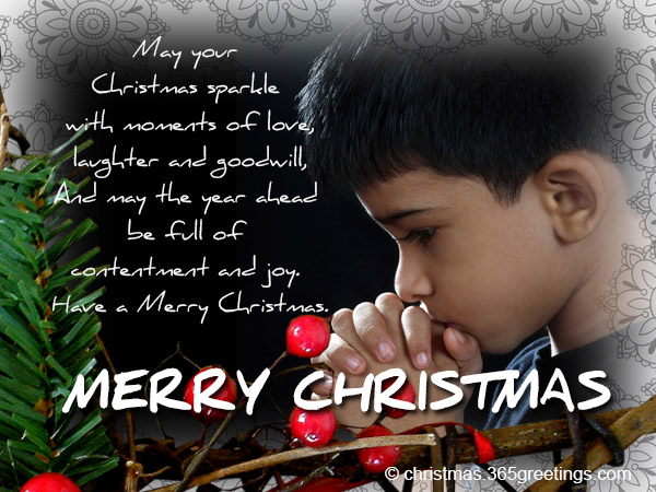 Christian Christmas Cards With Messages And Wishes Christmas Celebration All About Christmas