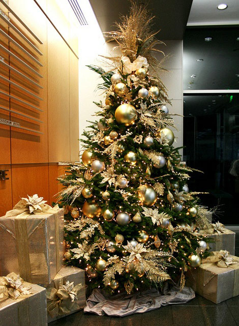 25 Beautiful Christmas Tree Decoration Ideas 2017 Decoratedchristmas Pictures