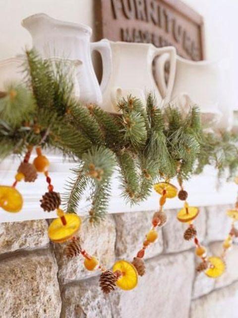 30 Beautiful Citrus Christmas Decoration Ideas Christmas