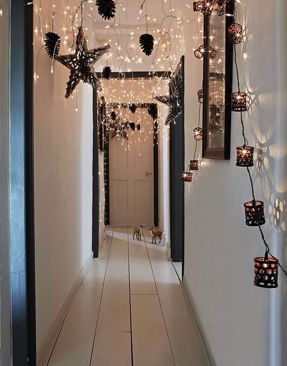 String Light Diy Ideas For Cool Home Decor Starry Bed Post Are Fun S