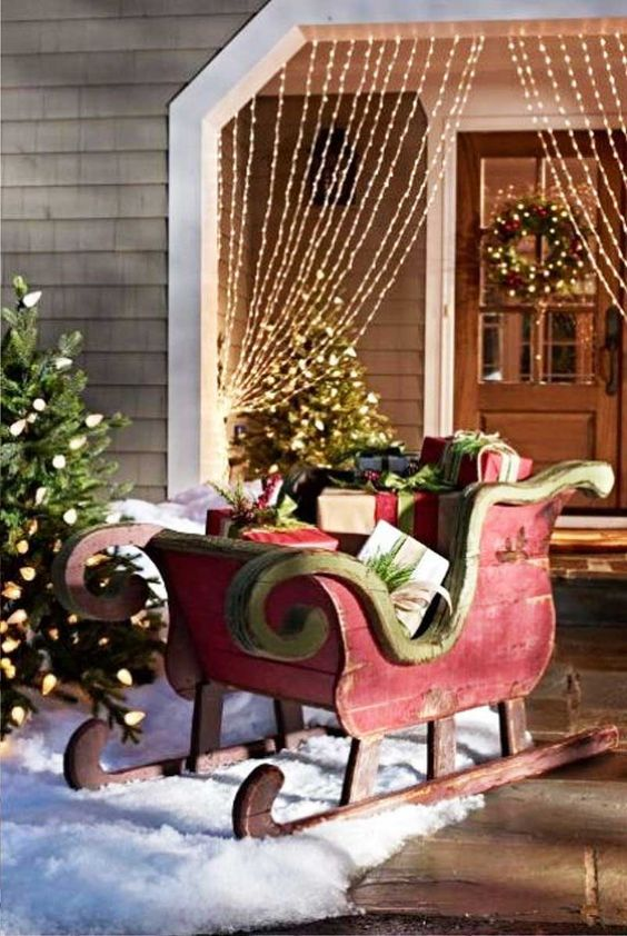Christmas Lawn Decorations Ideas - Christmas Celebration ... on Lawn Decorating Ideas id=39851