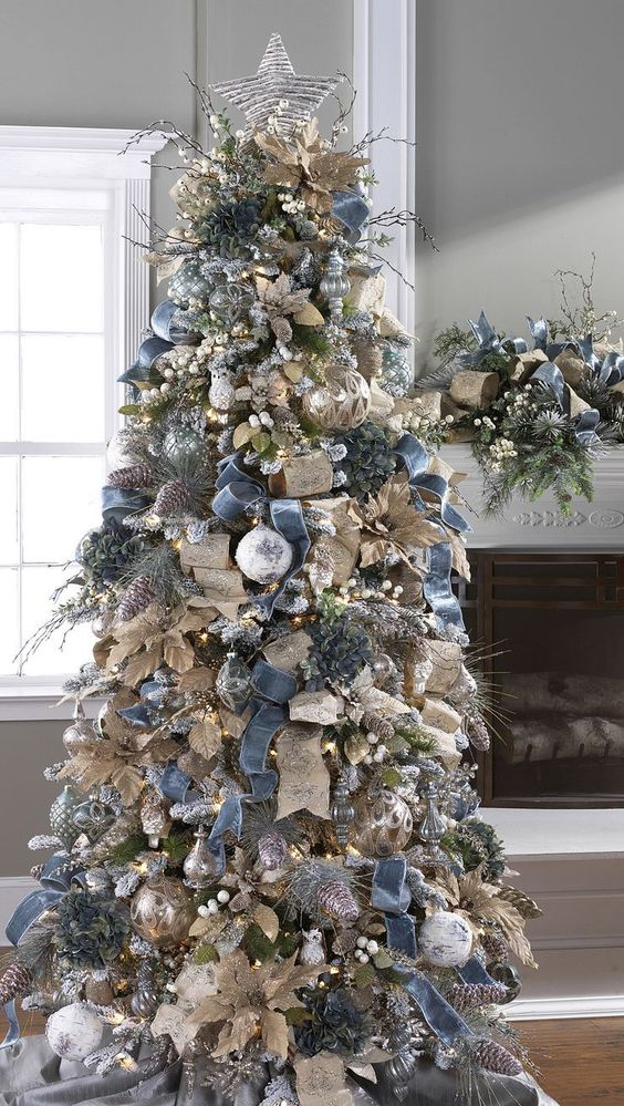 Christmas Tree Decorations With Ribbons Christmas