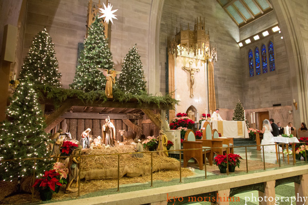 Christmas Celebrations Will Be Colourless Without An Elegantly Decorated Crib And Tree This Church Décor Resonating With Less Is More Phrase