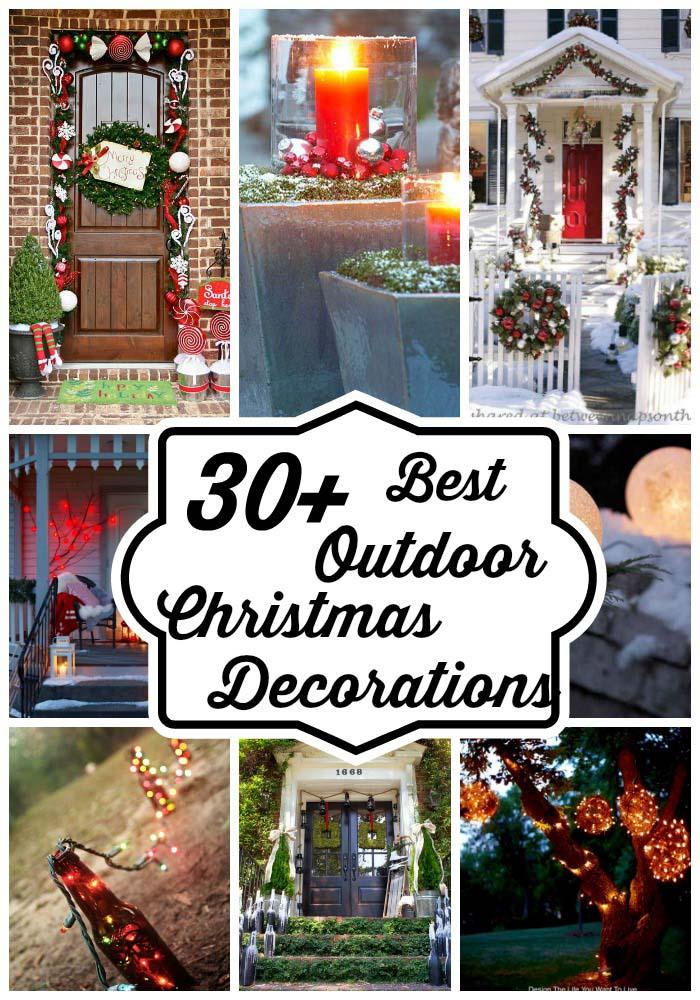 Best Outdoor Christmas Decorations Ideas - All About Christmas on Patio Decorating Ideas With Lights  id=94630