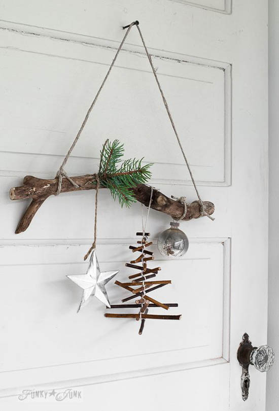 Rustic Christmas Decorations Pinterest 18 All About