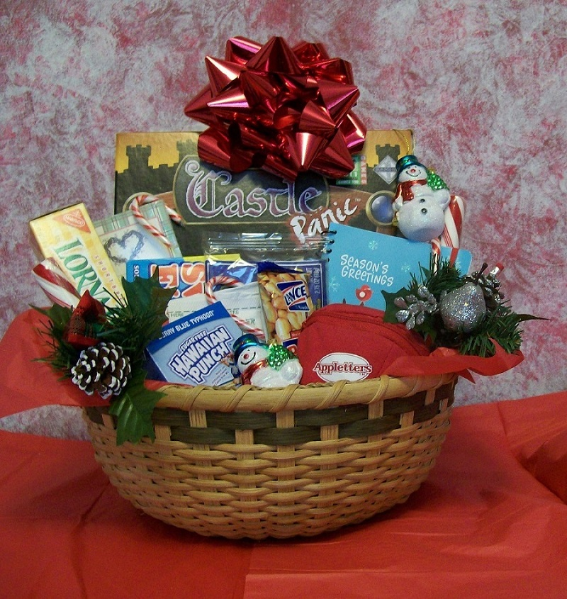 How To Decorate Christmas Gift Basket Wwwindiepediaorg