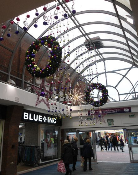 Saddlers Shopping Centre. Walsall
