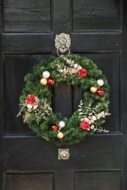 Bauble Delight Close Up on Black Door2