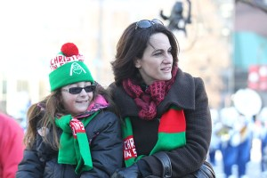 Parade attendees at the 2013 Ameren Missouri Thanksgiving Day Parade.