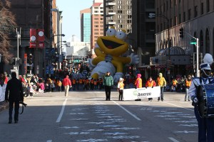 Ameren balloon at the 2013 Ameren Missouri Thanksgiving Day Parade.