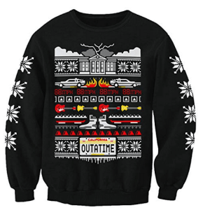 Back To The Future Christmas Jumper For Men