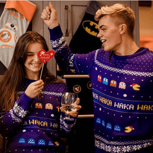 Pac-Man Official Christmas Jumper for Men