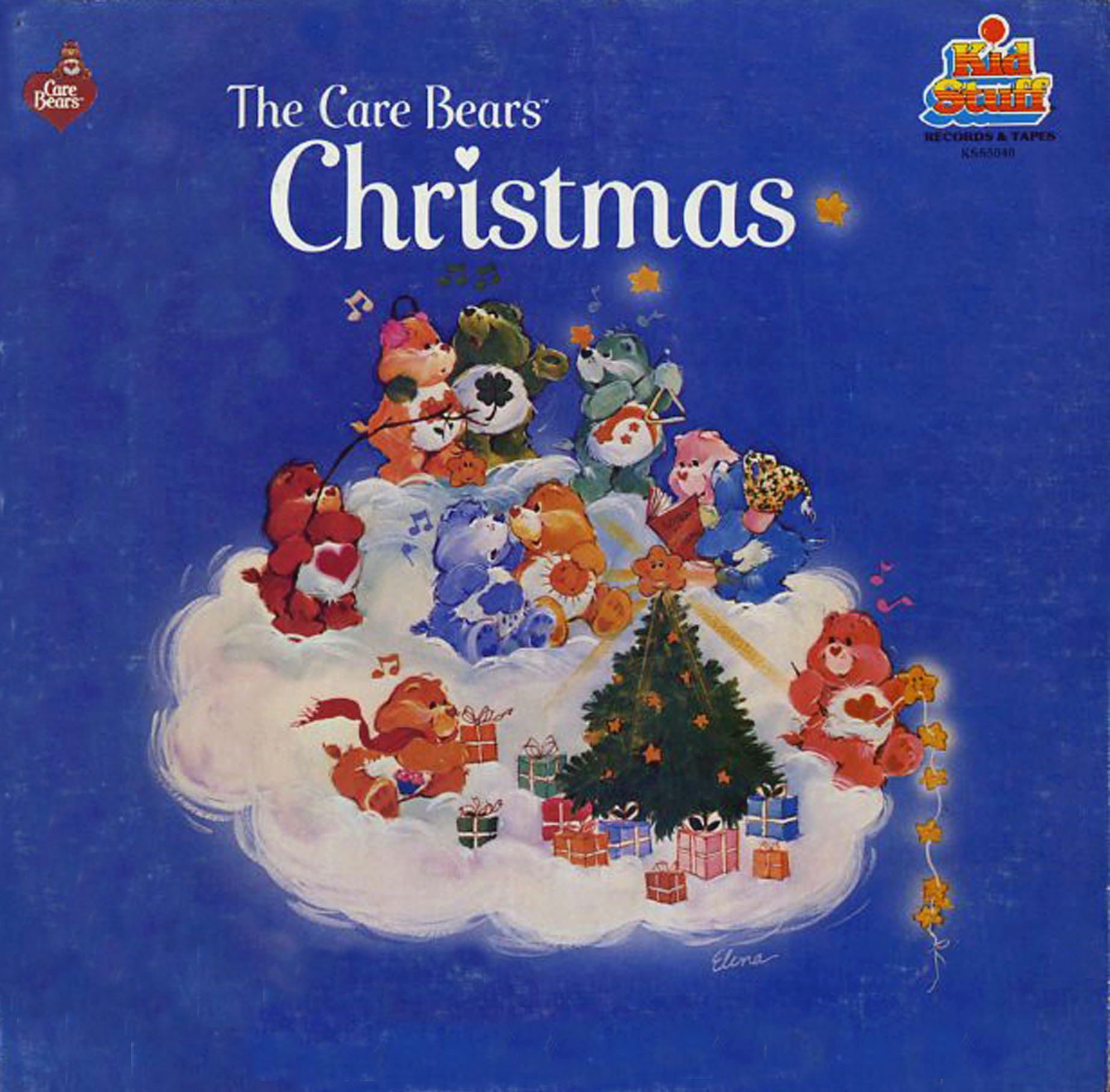 Care Bears Christmas Kid Stuff Records KSS5040 Christmas Vinyl Record LP Albums On CD And MP3