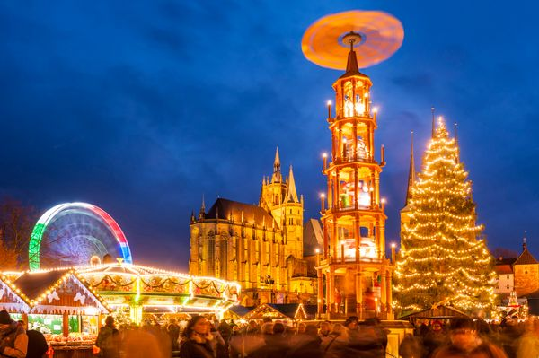 Christmas Market road trip in the Cultural Heart of Germany