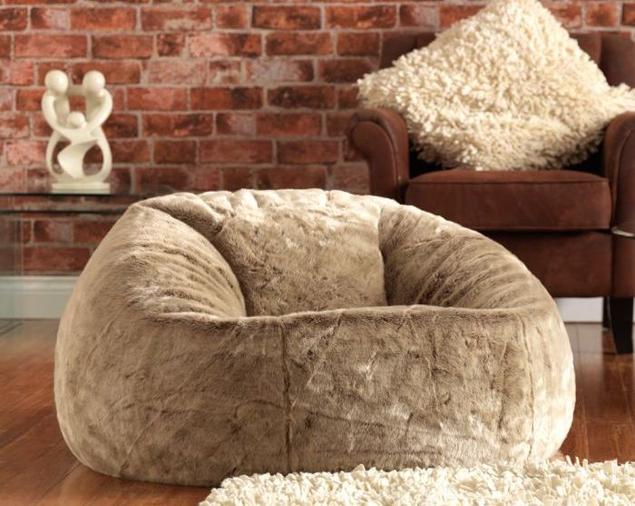 Keeping Cosy with a faux fur bean bag from Bean Bag Bazaar *WIN*