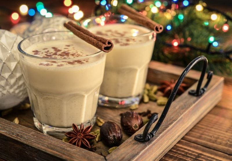 A Very Merry Eggnog Recipe