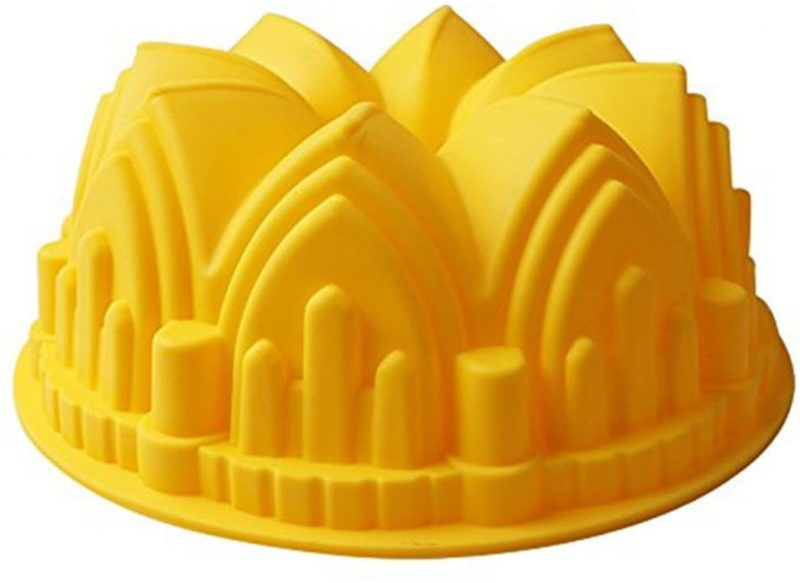 castle christmas bundt tin
