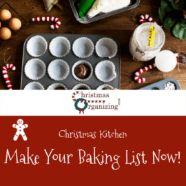 Make Your Baking List