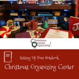 Christmas Organizing Center