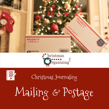 Mailing and Postage