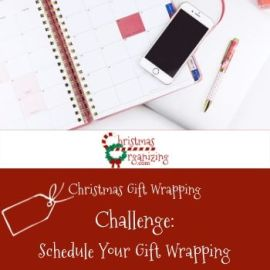 Schedule Your Gift Wrapping