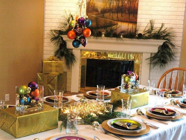 100 Beautiful Christmas Table Decorations From Pinterest Christmas Photos