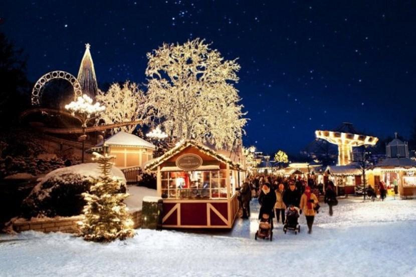 Christmas Market in Gothenburg, Sweden