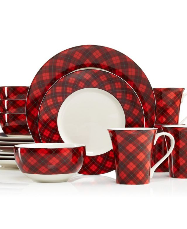 222 Fifth Dinnerware, Northwood Cottage 16-Piece Set – Casual Dinnerware – Dining & Entertaining – Macy's