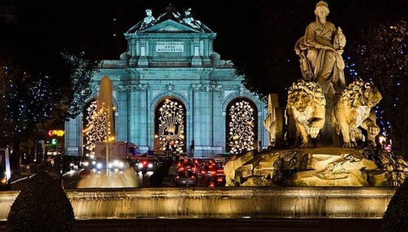 23 beautiful photos of Christmas in Madrid, Spain 1