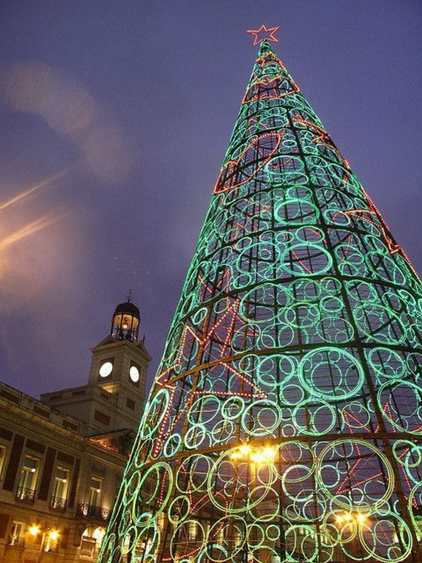 Christmas in Madrid, Spain