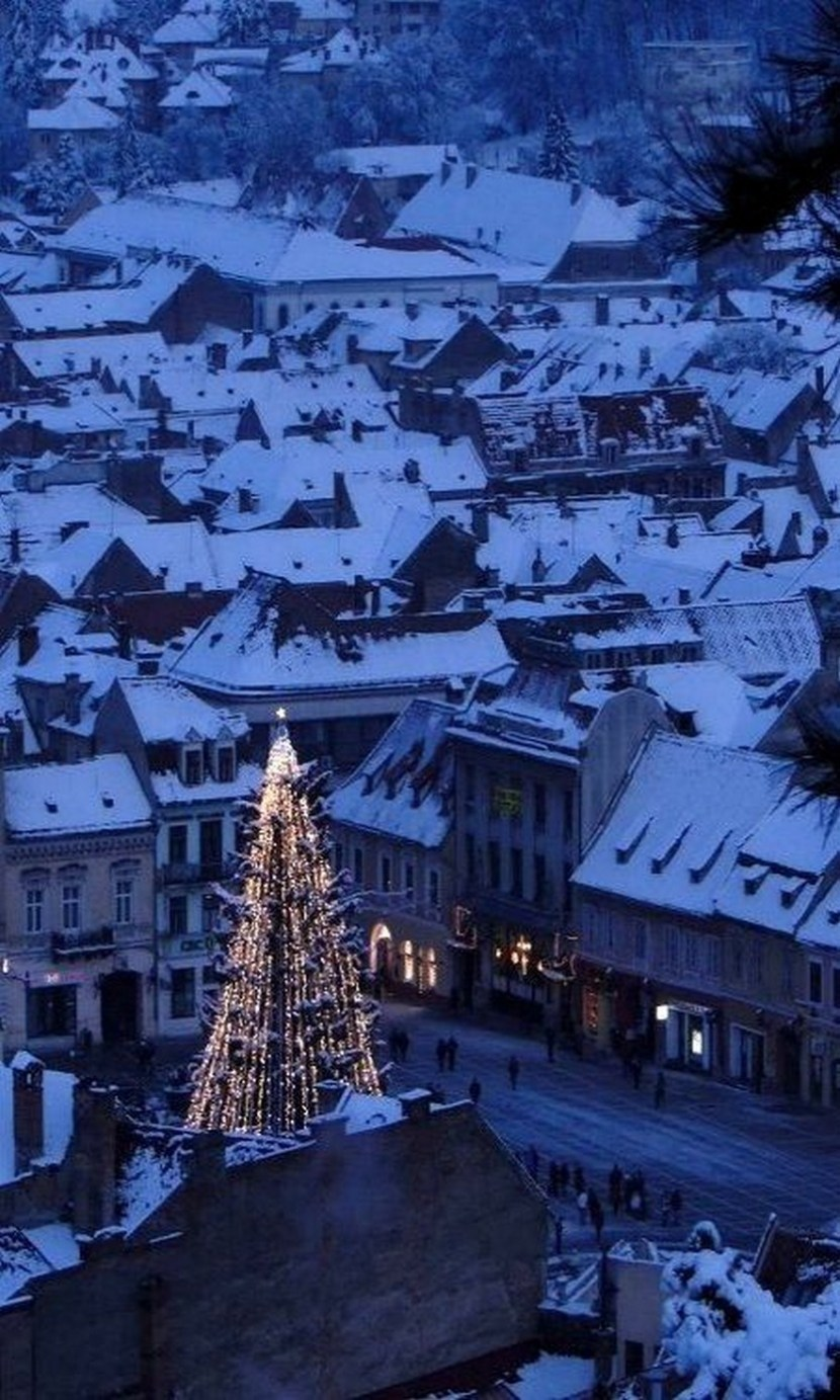 Christmas in Brasov, Romania