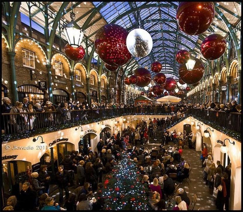 Christmas in Covent Garden London by JKmedia via Flickr