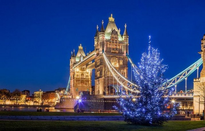Christmas In England.33 Beautiful Photos Of Christmas In London England