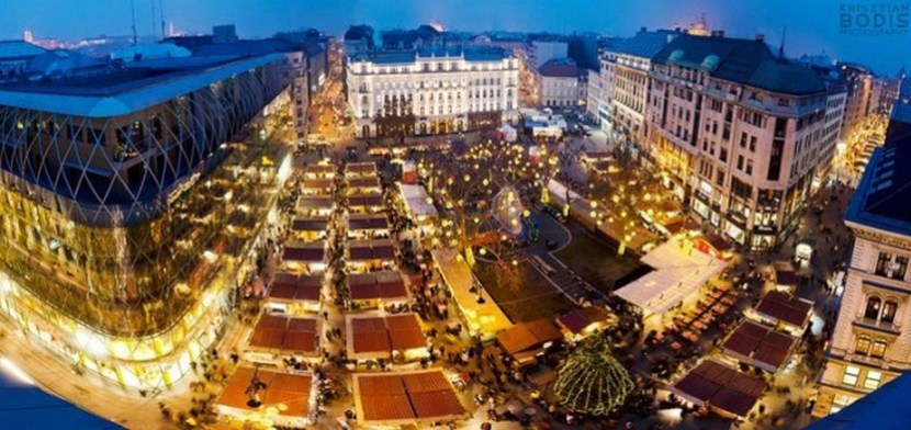 Budapest Christmas Market 2012 was 'Europe's Best Christmas Fair' – photo by Krisztian Bodis
