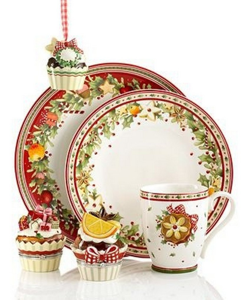 57 beautiful christmas dinnerware sets christmas photos for Villeroy boch christmas
