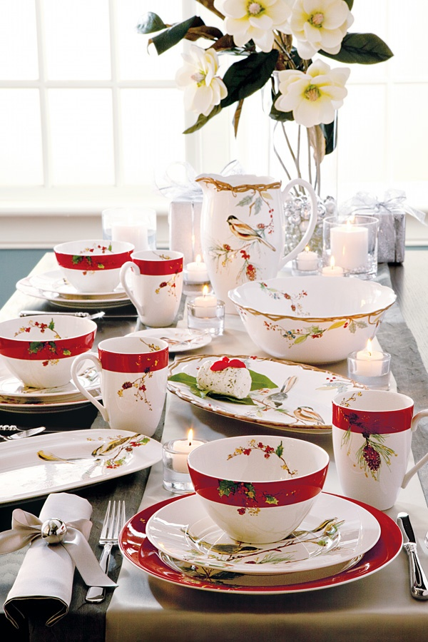 Belk Lenox 'Winter Song' Dinnerware