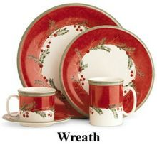 Christmas Dinnerware, Holiday China