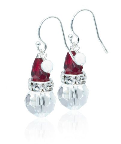 Cute Santa Earrings