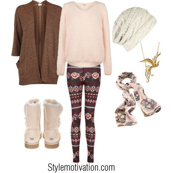 Cute winter holiday outfit