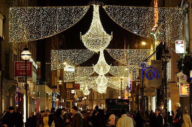 Dublin Christmas lights