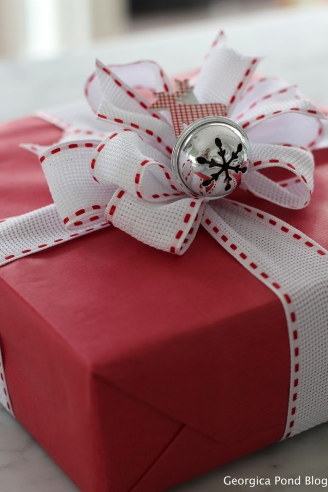Lovely Christmas gift packaging