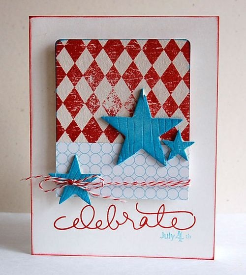 Textured celebrate Christmas card