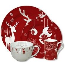 Waechtersbach Holiday Winter Splendor Dinnerware