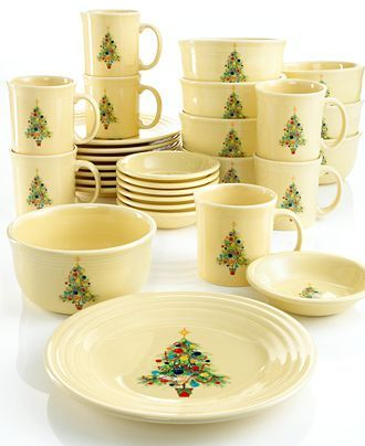 Fiestaware Christmas. I would love to have this!