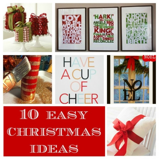 Creative Decorations Easy Christmas Decorations