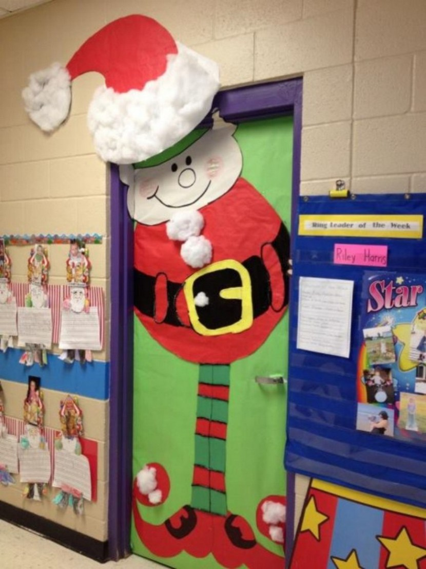 Simple Decorating Door Decorations For Christmas