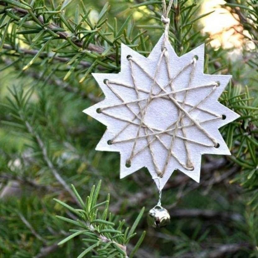 Christmas tree paper stars